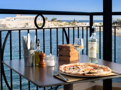 Da Marina restaurant st julians pizza